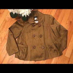 J. CREW: Green Oversized Button Blazer!